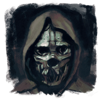 Dishonored - Corvo's Mask by juhoham