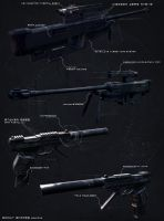 Scout sniper weapons by digitalinkrod