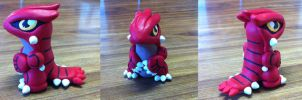 Chibi Groudon Figurine by Oukami4