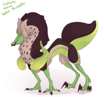 [Ludicrits Feral] - Mascot by SSCAdopts
