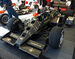 Ayrton Senna's Lotus chassis by gradge
