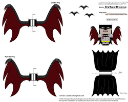 Cubee - Vampire Batman '2of2' by CyberDrone