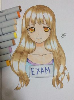 Copic art by Shiro-Madhouse