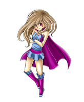 Random Superheroine x3 by Pretty-Belle