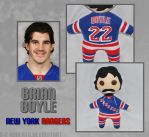 New York Rangers Plush - Brian Boyle by s-k-roberts