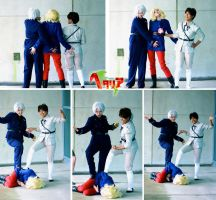 Hetalia - Butt Touch Trio by Imeria