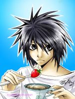 +Deathnote: L+ by ScaryFace