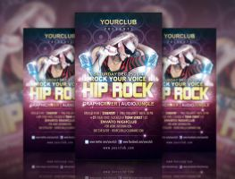 Hip Rock Flyer Template by ryan-mahendra