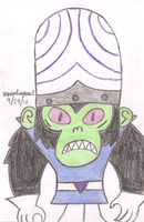 Mojo Jojo by MarioSimpson1