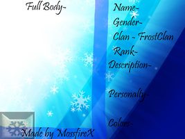 Northern Forests - FrostClan REF by MossySparkle