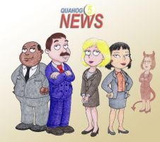 Channel 5 News Team by Yeldarb86