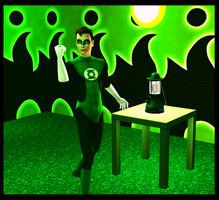 Green Guardian of Strangetown by Captain-Chaotica
