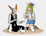 ~The Clown and the Rabbit~ by Plyesdayk
