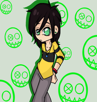 Fun Ghoul by Amy-Elisee