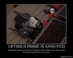 An Annoyed Prime by FireGoddess1997