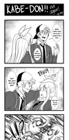 Kabe-Don! not again! by MisterZei
