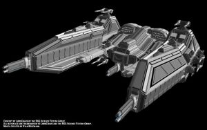 Battlecruiser by Mallacore