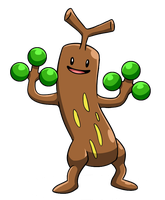 Silly Sudowoodo by Red-Flare