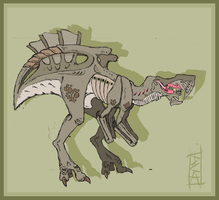 Predatory Alien Creature Female by Big-Rex