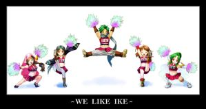 WE LIKE IKE by keiiii
