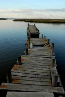 Old pier by JACAC