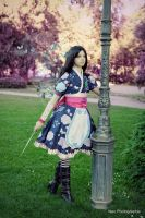 Alice madness returns silk maiden dress by NewmoondropCosplay