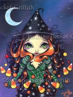 Little Candy Witch by jasminetoad