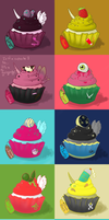 Oooh, cupcakes! by harecandy