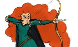 Merida by lucyelva