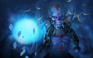dota2 Lich by biggreenpepper