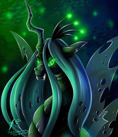 Queen Chrysalis by Retromissile