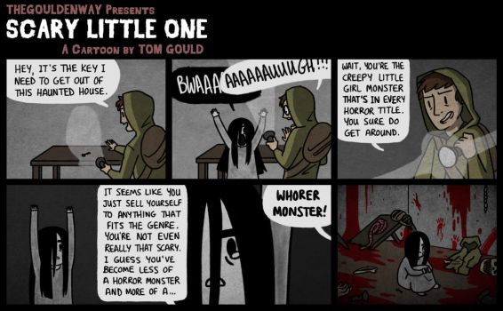 SCARY LITTLE ONE   001   It's Horror by TheGouldenWay