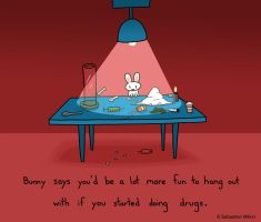 Bunny Advice by sebreg