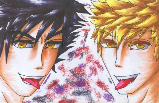 Copic Request: Vani and Veni by Jory476