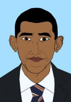 Obama Color by GamerZzon