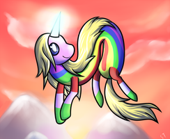 AT: Lady Rainicorn by SharkTuna