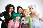 The Lost Photo Shoot - Our group of awesome by VFire