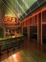 Rita's Cafe by Llyannart