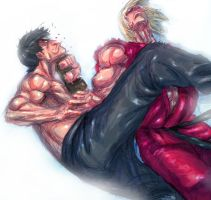 street fighters by sagatt