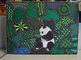 Sharpie Panda by meralies