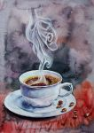 Cup of coffee by VeronikaFrizz