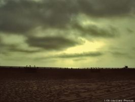 The Emptiness of Santa Monica by davilesdesigns