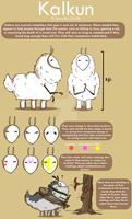 Kalkun Species Guide :CE: by MissMignonne