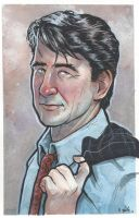 E.A.D.A. Jack McCoy from Law and Order Watercolor by ssava