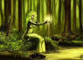 Dryad Spell by Lelia