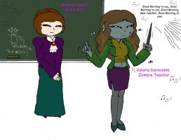Classtime with Valaria by Basher-the-Basilisk