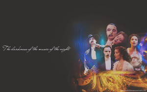 The Phantom Of The Opera - Wallpaper by VanneHenley