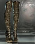 Vogue for Empowered Boots by Lilflame by cosmosue