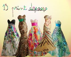 15 Print Dresses Big Pack by SoSickOfLoveSongs