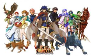 Fire Emblem Background by BritTheMighty